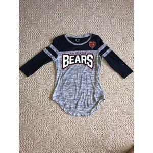 Women's Chicago Bears 3/4 Sleeve Top